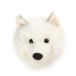 Wild and Soft Dierenkop - Witte Wolf