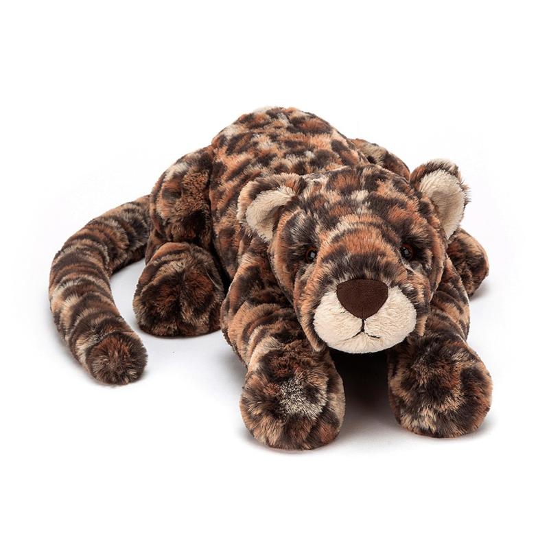 Jellycat Big Cats Livi Leopard Large - Knuffel Luipaard (46 cm)