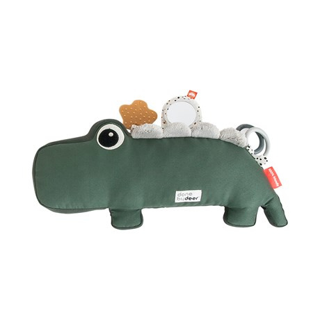 Done by Deer Tummy Time Activity Toy Croco - Groen