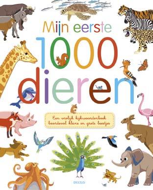 Uitgeverij Deltas Mijn eerste 1000 Dieren - Kijkboek
