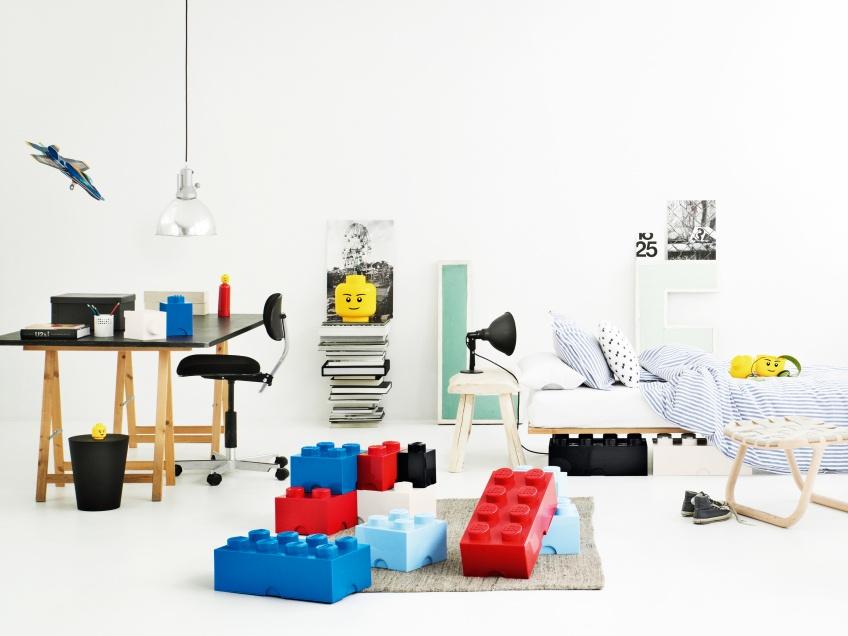 LEGO Room Copenhagen Opbergboxen Bricks 1, 2, 4 en 8 bij Grasonderjevoeten.nl!
