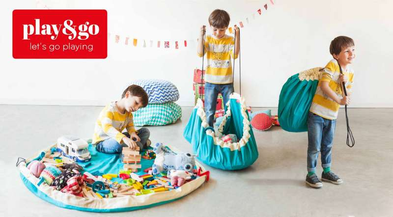 Play and Go, Play & Go - Speelgoedzak, opbertas, opbergzak, speelkleed
