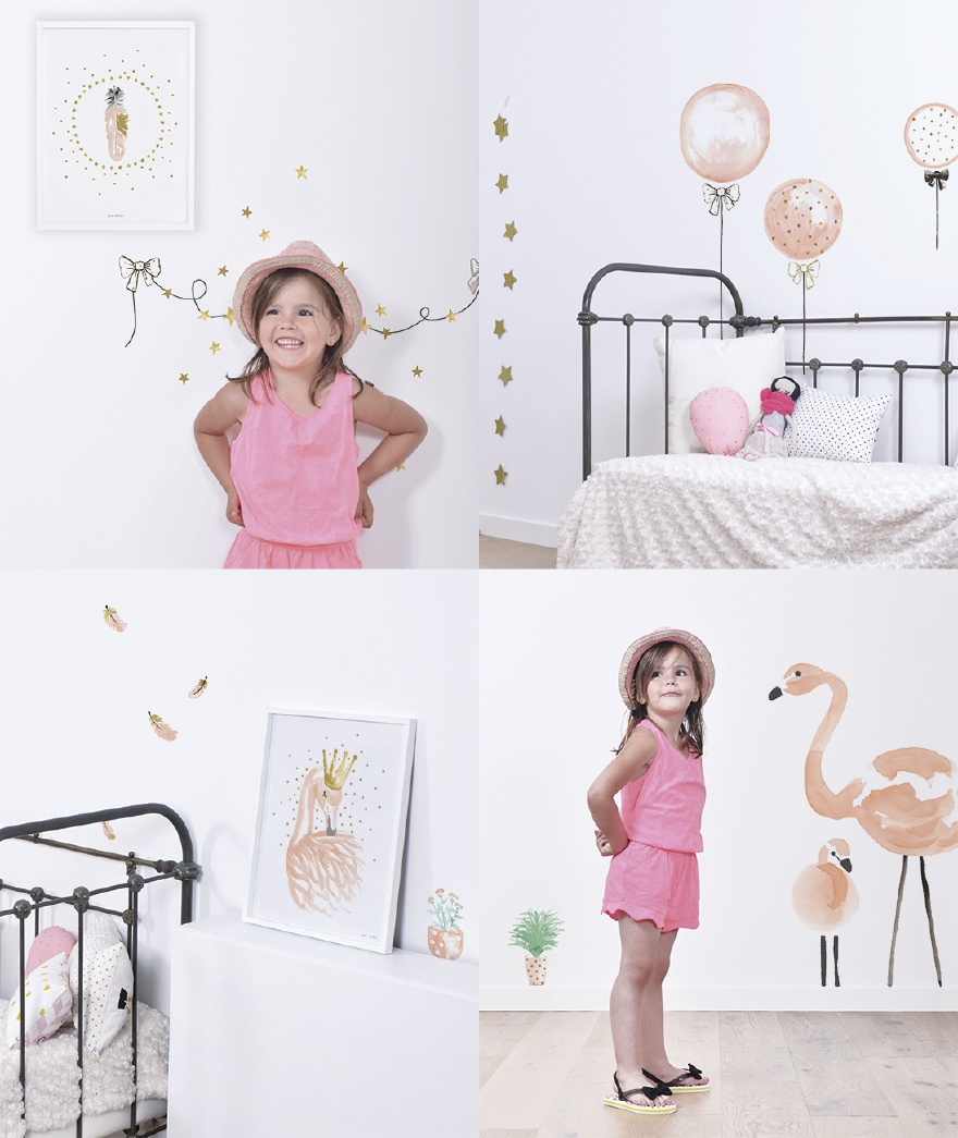 Lilipinso, designer Lucie Bellion, Flamingo - Think Pink
