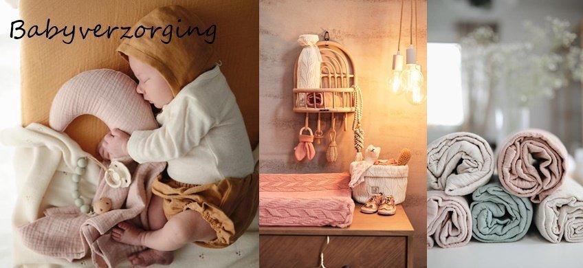 Babyverzorging - Alles voor je Baby - van hydrofiele doeken tot aan boxkleden