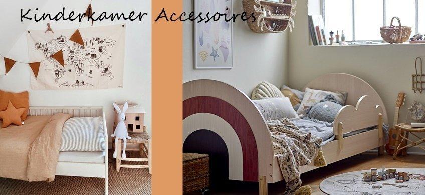 Kinderkamer Accessoires - Van leuke lampen tot aan dierenkoppen en vloerkleden