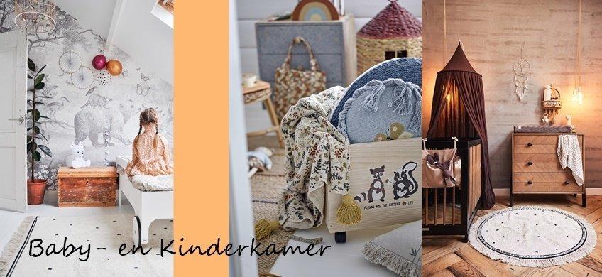 Baby- en Kinderkamer - Prachtige opbergmogelijkheden, wandrekken, posters en meer!