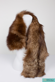 Dolce & Gabbana Fur Scarf - brown