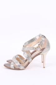 Jimmy Choo Lottie Glitter Sandal Size 40