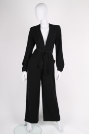 Mugler Jumpsuit - black