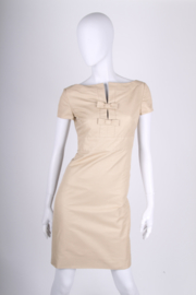 Valentino Short Dress - beige