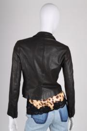 Chloe Leather Jacket - black