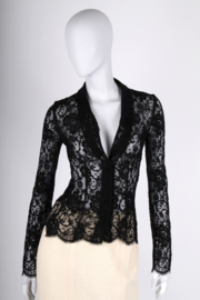 Dolce & Gabbana Lace Blouse - black