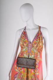 Louis Vuitton Pochette Twin Crossbody Bag L - brown