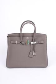 Hermes Birkin Bag Togo 35 Etain Palladium Hardware - taupe