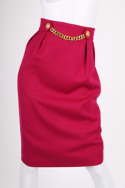 Celine Skirt - dark pink