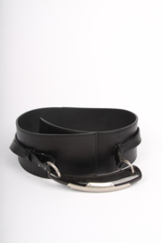 Yves Saint Laurent Leather Belt - black