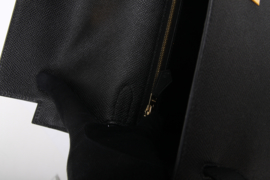 Hermes Kelly Sellier 32 Epsom Leather - black