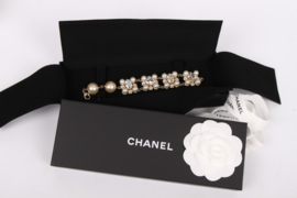 Chanel Bracelet - pearls/crystals/gold
