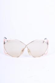Christian Dior Vintage Sunglasses 2056 - gold/pink/white