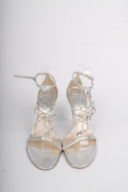 Dior Sandalettes - silver