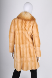 Marni Fur Coat - caramel