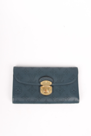 Louis Vuitton Mahina Amelia Wallet - dark blue
