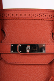 Hermes Birkin Ghillies 35 - brique red