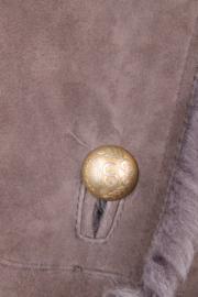 Escada Sport longline grey lammy coat