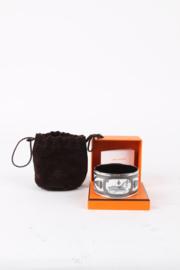 Hermès Enamel Printed Mega Wide Brazil Néo Classiques D'Eté Bracelet