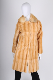 Marni Fur Coat - caramel
