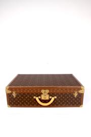 Louis Vuitton Monogram Trunk Suitcase 75 - brown