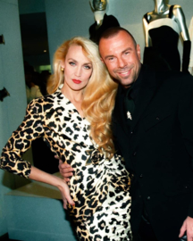 Thierry Mugler Couture Leopard Print Jacket