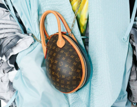 Louis Vuitton Egg Bag - brown