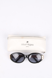 Courreges Vintage Sunglasses - black/gold