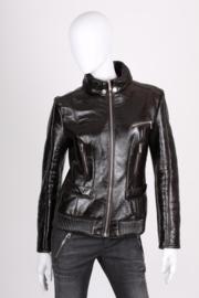 Versace VJC Leather Jacket - black