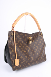 Louis Vuitton Monogram Gaia Bag - dark brown/black