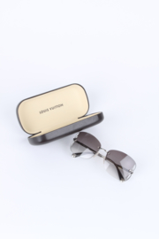 Louis Vuitton Silver/Brown Rimless Lily Sunglasses Z0308U