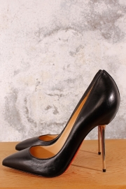 Louboutin Pumps Big Lips - black