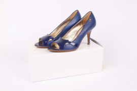 Versace Jeans Couture Peep-toe Shoes - blue
