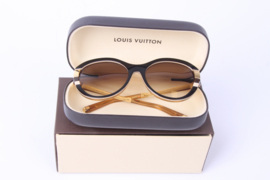 Louis Vuitton Soupcon Cat Eye Sunglasses Z0487W - black/brown/gold
