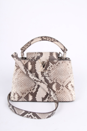 Louis Vuitton Capucines BB Top Handle Bag - python leather