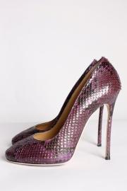 DSQUARED2 Python Leather Pumps - purple