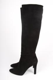 Ralph Lauren Diane Boots Suede - black
