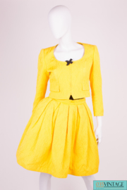 Christian Lacroix 2-pcs Suit Jacket & Skirt Vintage - yellow