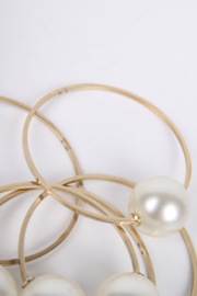 Chanel XL Pearl Bracelets - gold