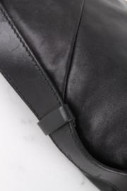Yves Saint Laurent Rive Gauche by Tom Ford Black Leather Half Moon Shoulder Handbag