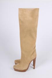 Michael Kors Suede Boots - beige