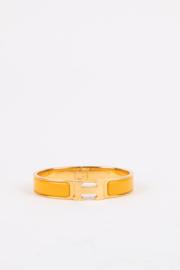Hermès Clic H Bracelet - Yellow