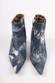 Dolce & Gabbana Denim Ankle Boots - blue