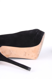 Gucci Suede Heel Size 40